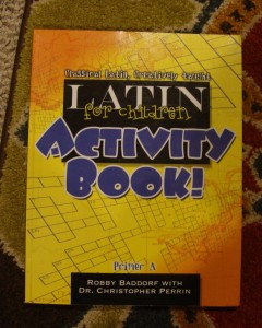 Latin For Children Activity Book