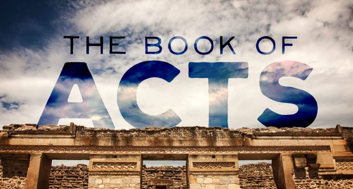 bsf's study of acts and letters of the apostles