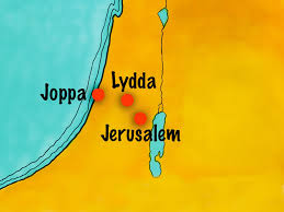 map of lydda and joppa atozmomm