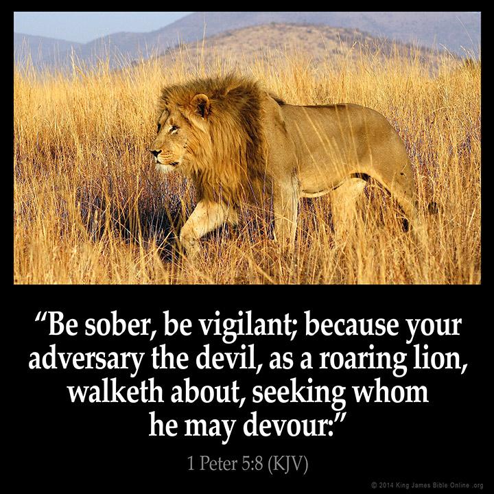 1 Peter 5:8 atozmomm.com