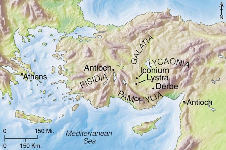 map of iconium atozmomm.com