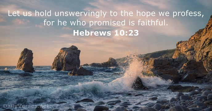 hebrews 10:23 atozmomm.com