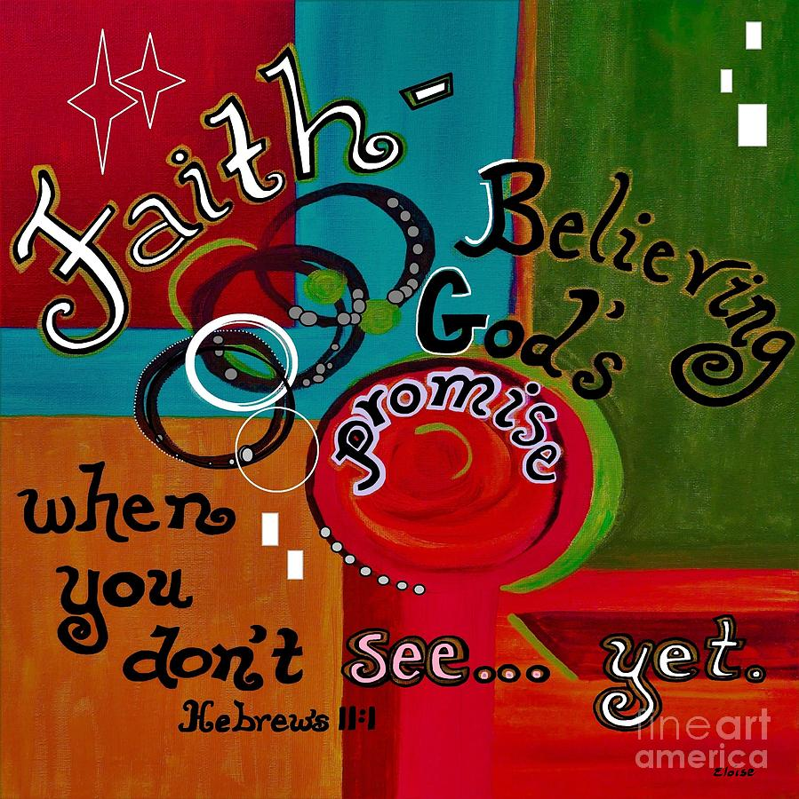 faith hebrews 11:1