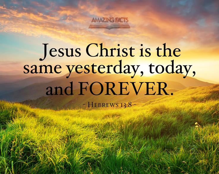 hebrews 13:8 atozmomm.com