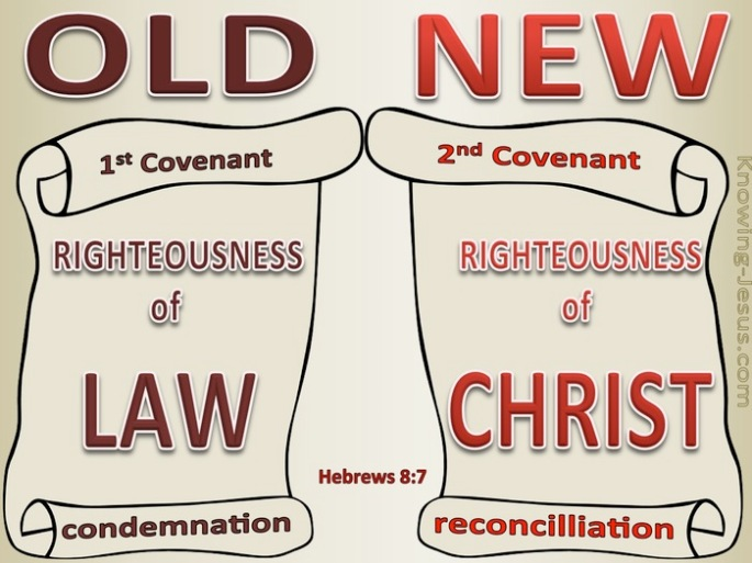 old covenant versus new covenant Hebrews 7 atozmomm.com