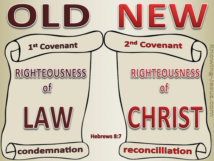 old covenant versus new covenant Hebrews 7 atozmomm.com