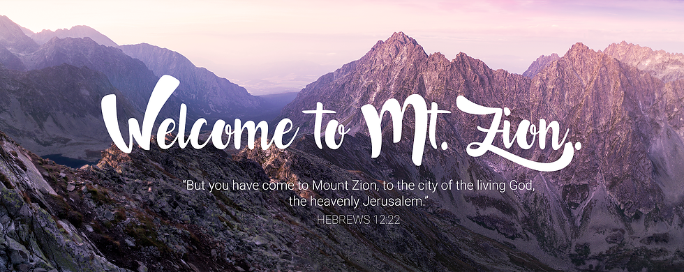 mount zion atozmomm.com hebrews