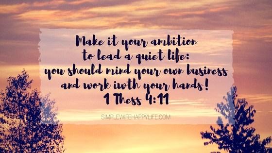 1 Thessalonians 4:11 atozmomm.com