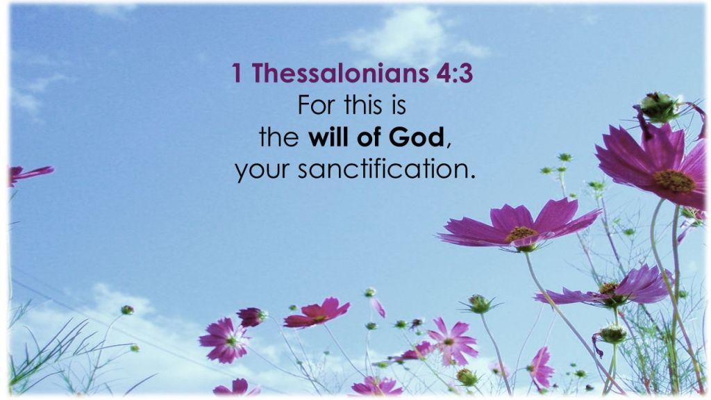 1 Thessalonians 4:3 atozmomm.com
