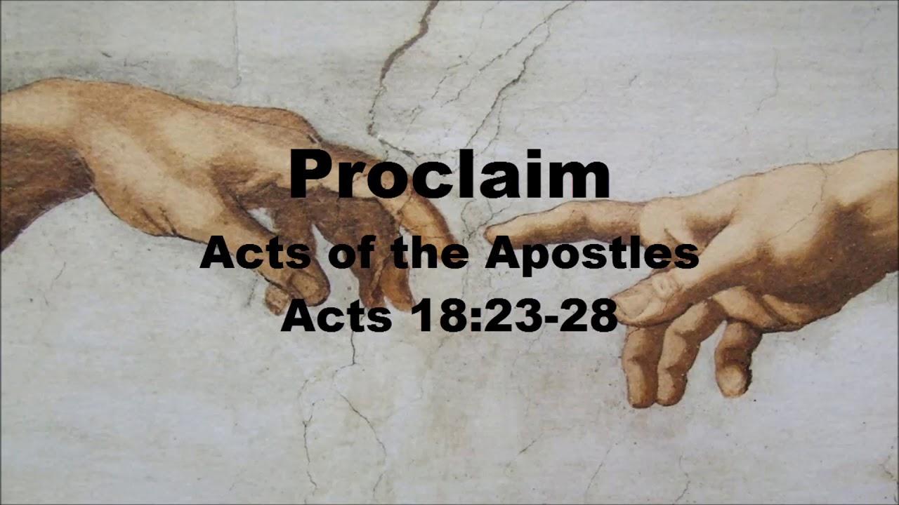Acts 18:23-28 atozmomm.com
