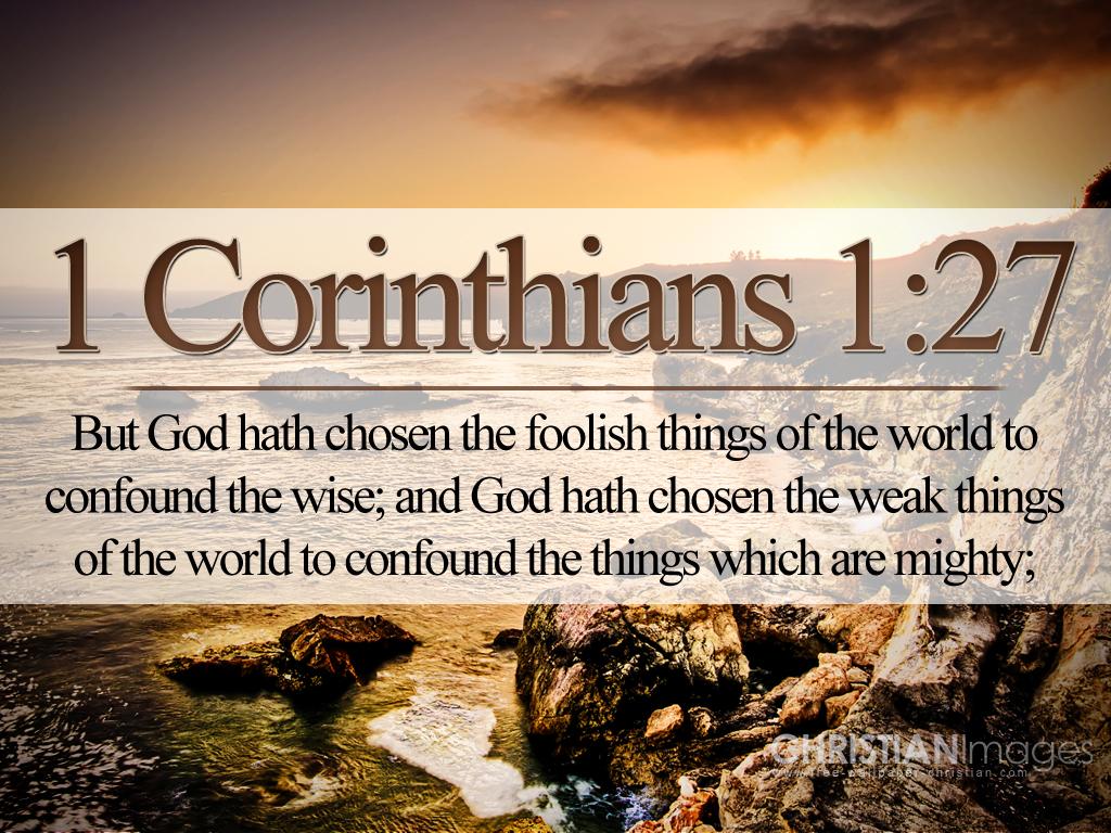 1 corinthians 1:27 atozmomm.com