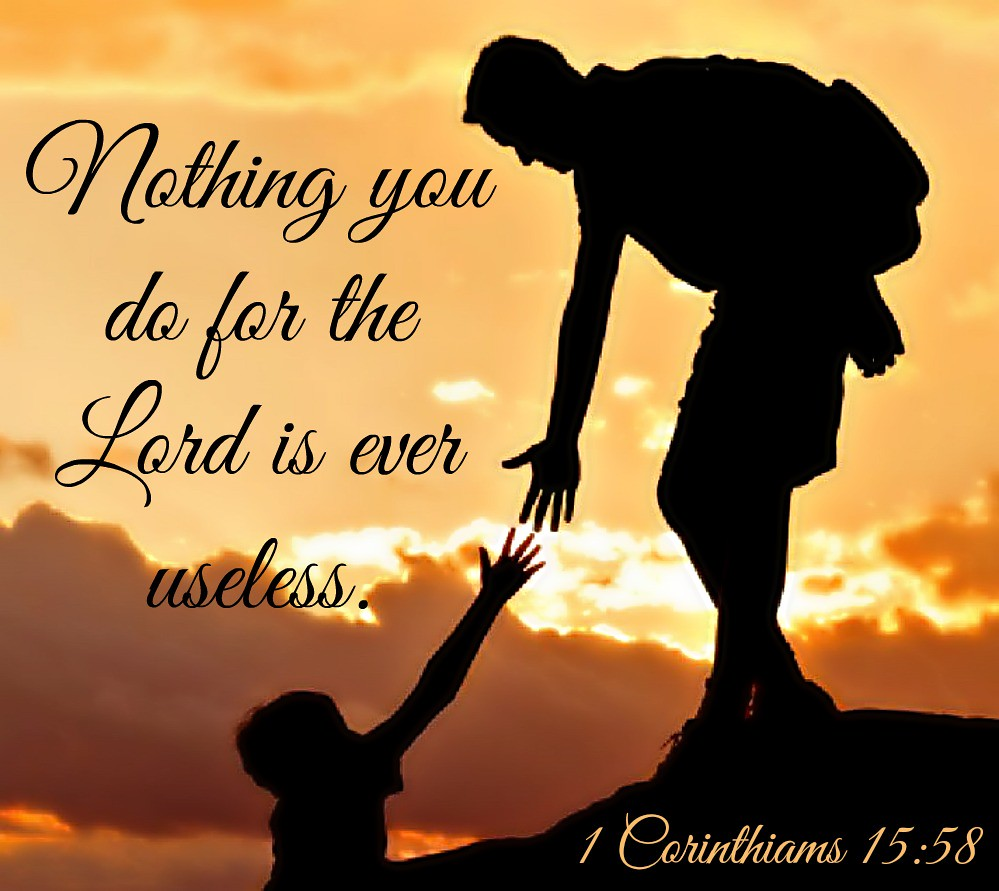 1 Corinthians 15:58 atozmomm.com
