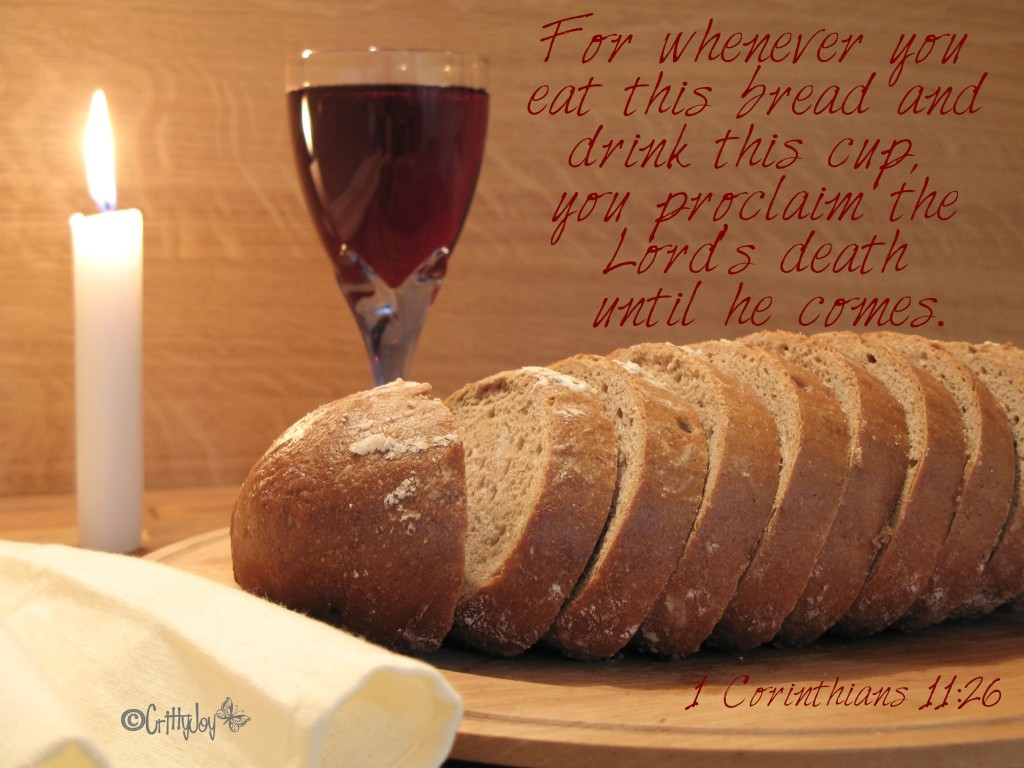 Lord's supper 1 Corinthians 11:26 atozmomm.com