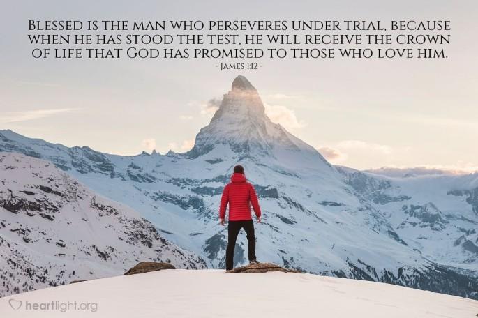 James 1:12 atozmomm