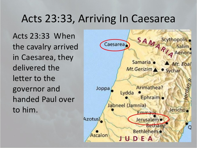 map of caesarea atozmomm.com
