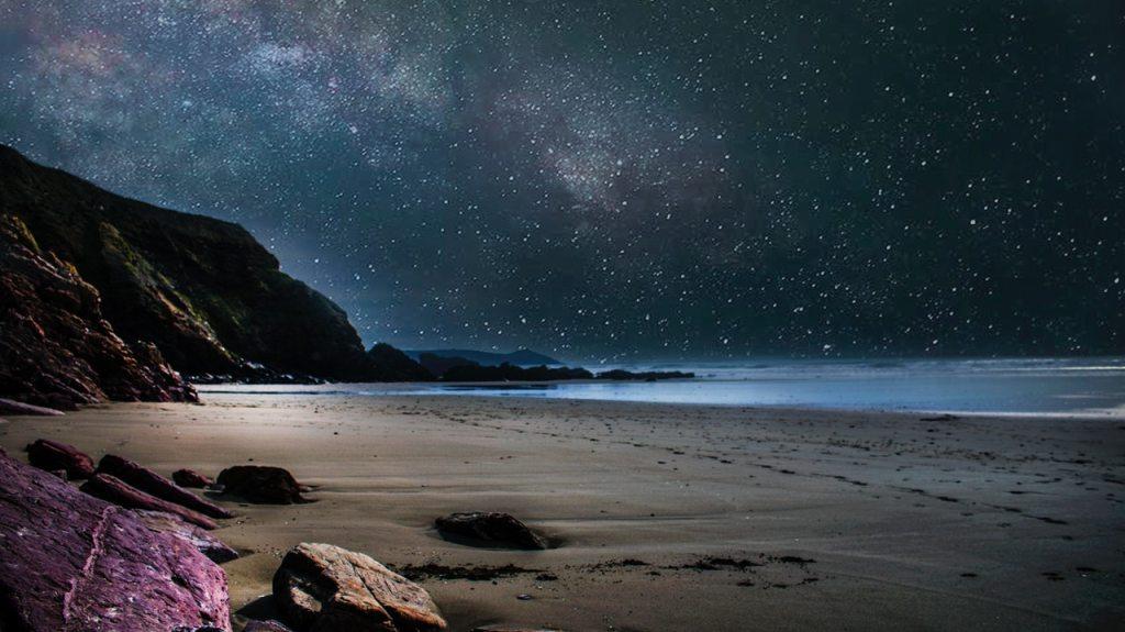 beach at night atozmomm.com