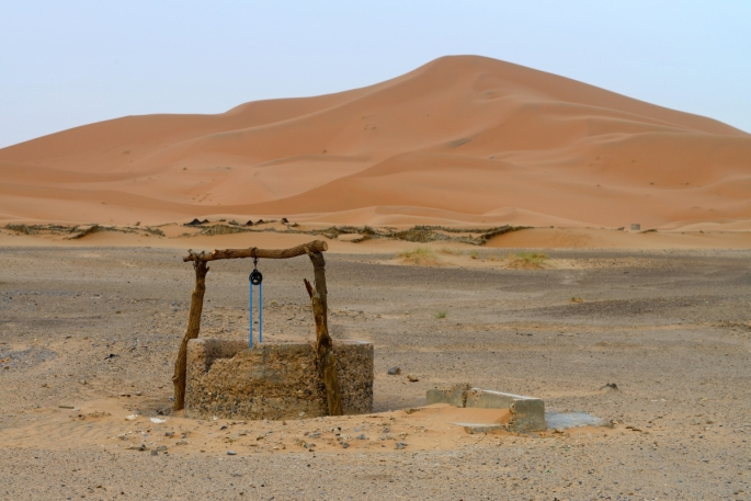 a well of water in the desert for hagar and ismael www.atozmomm.com
