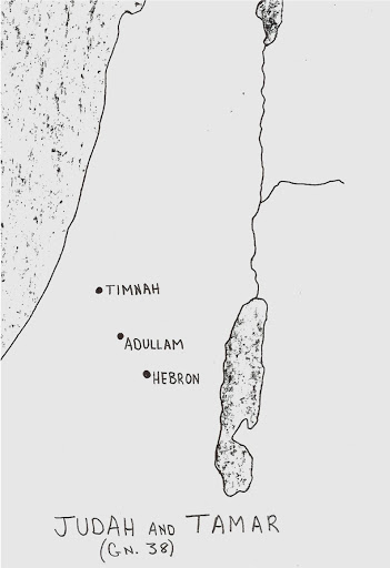 map of adullam and timnah www.atozmomm.com