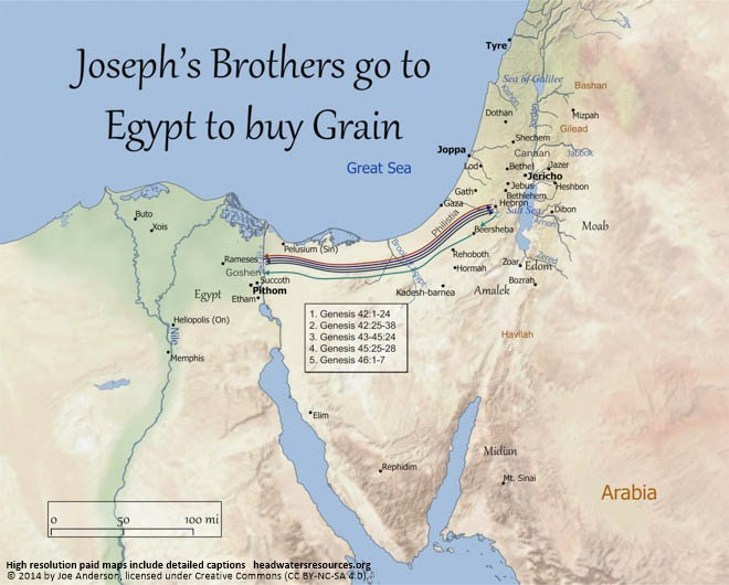 joseph's brothers go to buy grain www.atozmomm.com